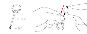 CrystalRingFingerStrap【送料無料】【ポストイン指定商品】スマホストラップスマホに最適落下防止ストラップ10P29Jul16
