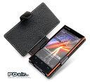 PDAIR レザーケース for AQUOS PHONE 104SH 横開きタイプ 手帳型ケース 手帳タイプ
