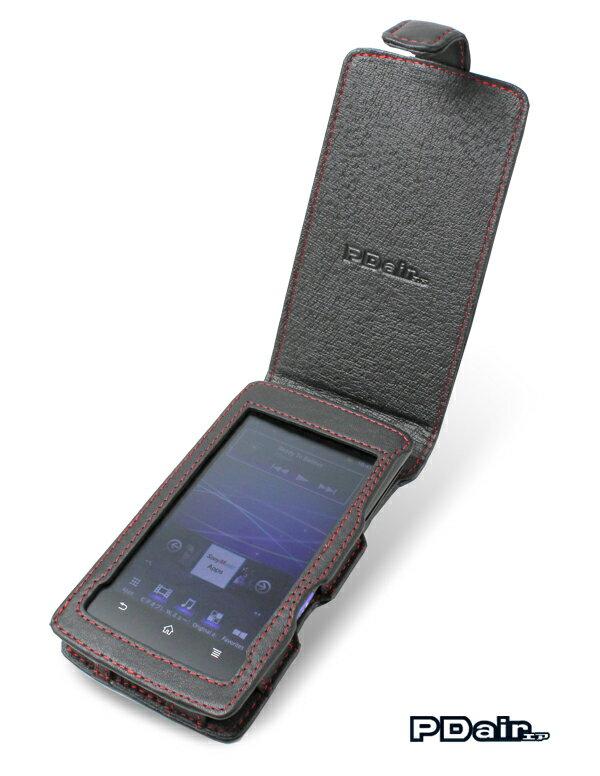 ウォークマン NW-Z1000シリーズ 用 ケース PDAIR レザーケース for ウォークマン NW-Z1000シリーズ 縦開きタイプ