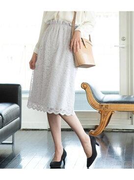[Rakuten BRAND AVENUE]【WEB限定】レースタイトスカート ビス スカート【送料無料】