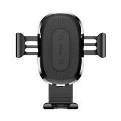 送料無料/Baseus/カーチャージャー/ワイヤレス充電器/車載用ホルダー/360度回転