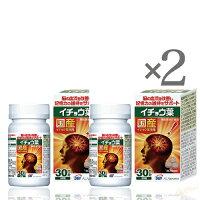 [2本SET]SBIイチョウ葉90粒(30日分)[正規品](機能性表示食品サプリ補助食品記憶力維持国産活力ダイエット健康美容)のポイント対象リンク
