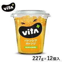 ビタプラスVITA+バレンシアオレンジシロップ漬け227g12個入フルーツスイーツまとめ買い