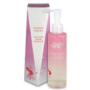 Hirosophie Tsubaki Sakura Cleanse Wash Essence 120 г Очищающее средство для макияжа вокруг глаз Макияж Может использовать Эклектус Цубаки Масло