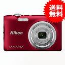Nikon デジタルカメラ COOLPIX A100 光学5倍 2005万画素 レッド A100RD 【送料無料】