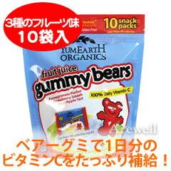 【ファミリーパック】ヤミーアースフルーツジュースガミーベアー 255g(9oz)【メール便OK】1袋...