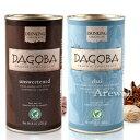 DAGOBA(ダゴバ)オーガニック チョコレートドリンク(無糖)&チャイドリンク 各226g(8oz)オーガニック原料のみでできた美味しいチョコレートドリンク!厳選スパイスを加えたチャイ風味もおススメ