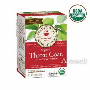 茶葉・ティーバッグ, ハーブティー  1612 Traditional Medicinals Throat Coat 16tea bags