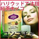 コンブチャ(コンブ茶)16ティーバック緑茶と紅茶キノコのコラボコンブチャ(コンブ茶) 16テ...