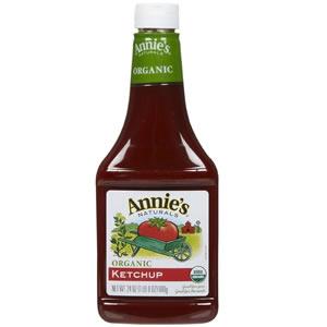 オーガニック ケチャップ680g アニーズ社製USDA、Oregon Tilth認証ケチャップグルテンフリー、人工着色料や防腐剤の心配なし濃厚&酸味が強めでさっぱりAnnie's Naturals Organic Ketchup