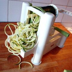 【送料無料】Spiralizer社製 三枚刃 ベジタブルスライサー話題のベジ麺も!新鮮野菜サラダメーカー!30秒で野菜麺が作れちゃう!BPAフリーのABS樹脂フレーム製&ブレードは日本製高炭素ステンレス鋼【220926】