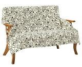 マルチカバー 長方形 140×200cm 北欧 Vita home ブルージュ ホワイト 綿100% 日本製