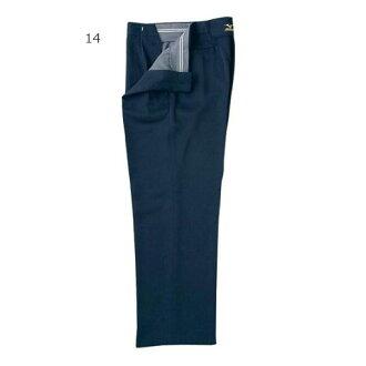 美津濃 Mizuno 男裝棒球磨損壘球裁判員的長衣長褲長褲子休閒褲 52PU12914