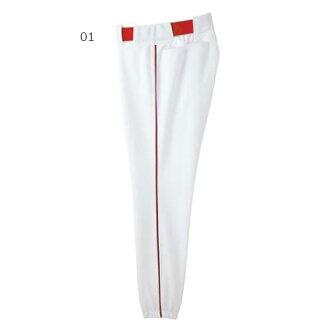 美津濃 Mizuno 棒球男裝長褲子廣島東洋鯉魚褲子 52PW077