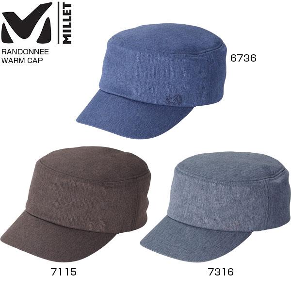 ミレー MILLET メンズ ランドネ ウォーム キャップ RANDONNEE WARM CAP 帽子 MIV01471