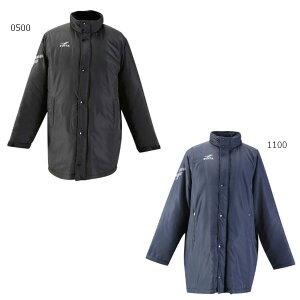 【送料無料】 フィンタ FINTA メンズ 中綿ハーフコート サッカーウェア フットサルウェア ベンチコート 長袖 上着 FT5134