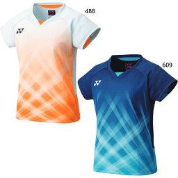ヨネックス レディース ゲームシャツ フィットシャツ テニス バドミントンウェア トップス 半袖 送料無料 YONEX 20611