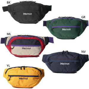 【送料無料】 マーモット Marmot メンズ レディース ウエストバッグ Waist Bag ウエストポーチ ボディバッグ カジュアル シンプル ロゴ アウトドア デイリー 登山 TOARJA15