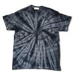RHCRonHerman(ロンハーマン):ChillaxSpiderTieDyeTシャツブラック