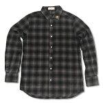 RHCRonHerman(ロンハーマン):ChillaxStudsネルシャツ(Gray)