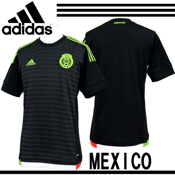 メキシコ代表 2015ホーム レプリカユニフォーム【adidas】アディダス サッカーレプリカウェア 15SS(MGL96-M36002)*20