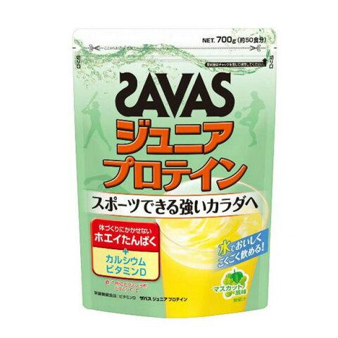 ジュニア プロテインマスカット風味 バッグ700g(約50食分)【SAVAS】ザバスサプリメント/プロテイン(CT1028)*27