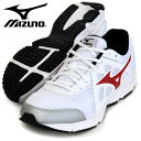 MIZUNO ミズノ ランニング メンズジョギングシューズ MAXIMIZER 19 K1GA170062 メンズ ホワイトxレッド