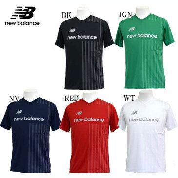 ジュニア プラクティスシャツ【New Balance】ニューバランス JR サッカーウェア プラシャツ18SS(JJTF8341)*00