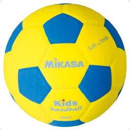 ハンド1号 青/黄【MIKASA】ミカサハントドッチ11FW mikasa(SH1YBL)<お取り寄せ商品の為、発送に2〜5日掛かります。>*20