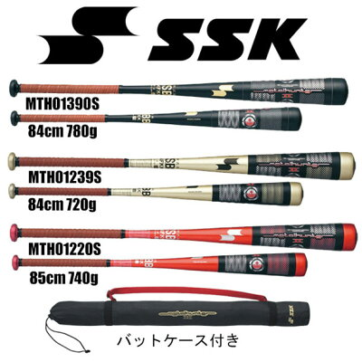 【送料無料】メタルハンターⅡ【SSK】エスエスケイ 一般軟式金属製バット13SS(mth01220s ...