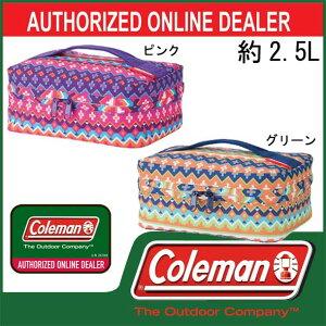 クーラーボックス/2.5L【coleman】コールマンクーラーバッグ13SS(170-7003/7004)<発送に2〜5日掛る場合が御座います。>