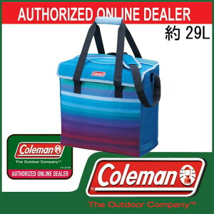 グラデーションソフトクーラー/29L【coleman】コールマンクーラーバッグ13SS(2000011322)<発送に2〜5日掛る場合が御座います。>
