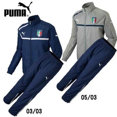 FIGC イタリア ウーブンジャケット 上下セット【PUMA】プーマ ジャージ(740328/329)