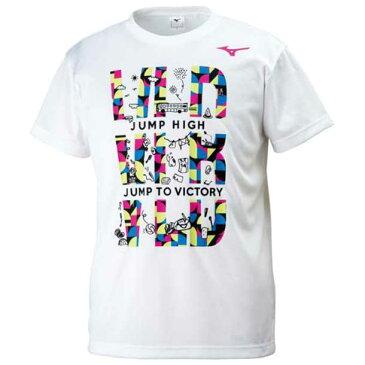 グラフィックTシャツ【MIZUNO】ミズノバレーボール ウエア プラクティスシャツ(V2MA8086)*52