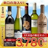 【9月末迄期間限定】【送料無料】金賞受賞ワイン&お手頃ワインの「赤白泡ワイン」5本セット ワインセット/赤ワイン/白ワイン/スパークリングワイン/イタリアワイン/モルドバワイン/スペインワイン