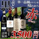 【送料無料】黒ブドウ単一品種のワインを味わおう!赤ワイン4本セットB辛口/ワインセット/フランスワイン/スペイン/ドイツ/チリ/金賞ワイン【party】