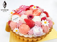 【ルメルシー6号】【メッセージプレート無料】【無料ローソク10本付き】 アイスケーキ ギフト 苺 記念日 チョコレート フルーツ 誕生日 バースデー 内祝い プレゼント おくりもの かわいい お祝い ケーキ お返し おしゃれ 女の子 人気 ランキング