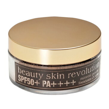 ≪美肌レボ ミネラルパワーファンデーションUV4プラス SPF50 PA++++ ≫ミネラル パウダーファンデーション UV対策 シミかくし 毛穴ケア カバー力 クルード化粧品 美肌 年齢肌 ツヤ肌 定型外発送予定