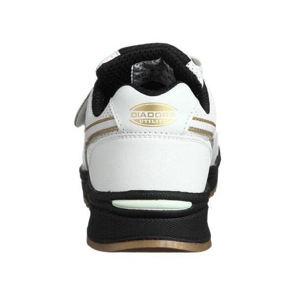 安全靴おしゃれディアドラスニーカーロビンRB-11ホワイト白