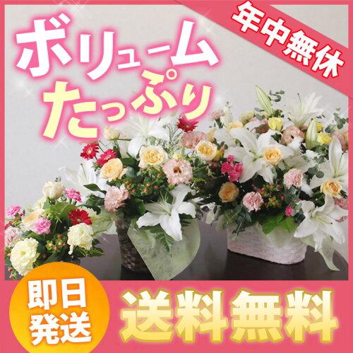 花 開店祝い フラワーアレンジメント おまかせ(8,000円税別) 移転祝い 誕生日 ビジ...