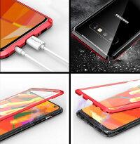 送料無料SamsungGalaxyS10S10+S10eケースアルミニウムバンパーギャラクシーCASEクリア透明強化ガラス背面パネル付き軽量持ちやすいカバー高級感があふれメタルサイドバンパー