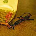 定形外郵便で送料無料 微妙な色のコントラスト おしゃれ 老眼鏡 シニアグラスさりげない大人の遊び心 Reading Glasses 敬老の日 プレゼント 母の日 父の日 ギフトに ダルトン BONOX WA008の商品画像