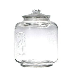 GLASS COOKIE JAR 5L ガラスクッキージャー 米びつ 5kg ライスボックス 保存容器 ガラス瓶 キャニスター 北欧 雑貨 ガラス瓶 Glass cookie jar ジャーサラダ ガラス瓶 食品収納用 レトロ ガラス ダルトン DULTON CH00-H05-5