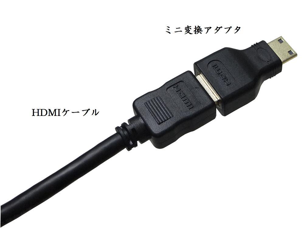 vodaview MiniHDMI 変換アダプタ〔HDMI Cタイプ変換〕【メール便 】