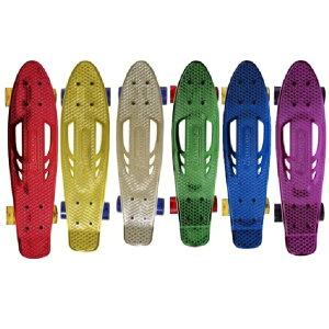 スケボー スケートボード Karnage ミニクルーザー クロームメッキ 23インチ jd razor