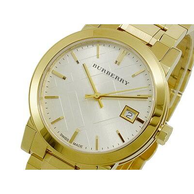 バーバリー(BURBERRY)腕時計 シルバー×ゴールド
