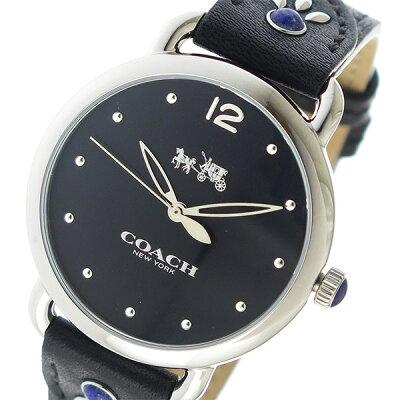 コーチ(COACH)腕時計 ブラック
