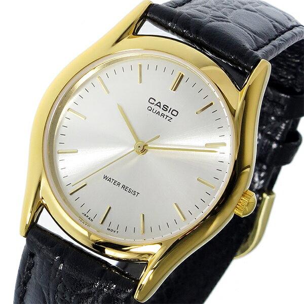 カシオ CASIO 腕時計 レディース シルバー