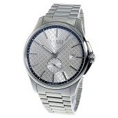 グッチ(GUCCI)Gタイムレス 腕時計 シルバー