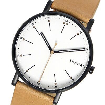スカーゲン(SKAGEN)シグネチャー SIGNATUR 腕時計 ホワイト
